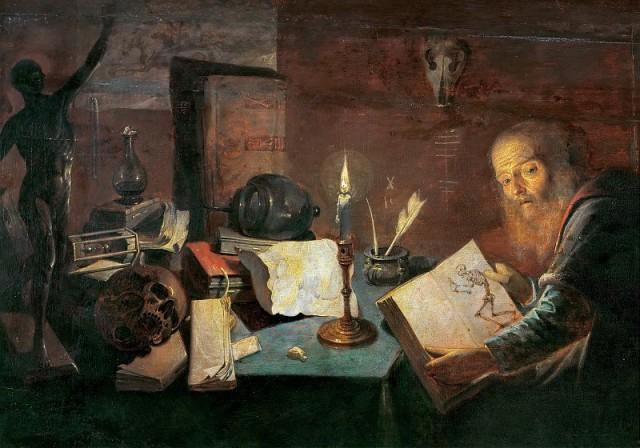 Концепция получения золота в алхимии