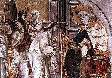 Введение во Храм Пресвятой Богородицы - фото